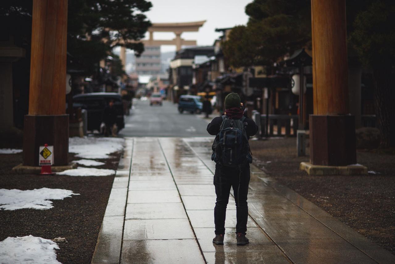 岐阜県高山市 桜山八幡宮