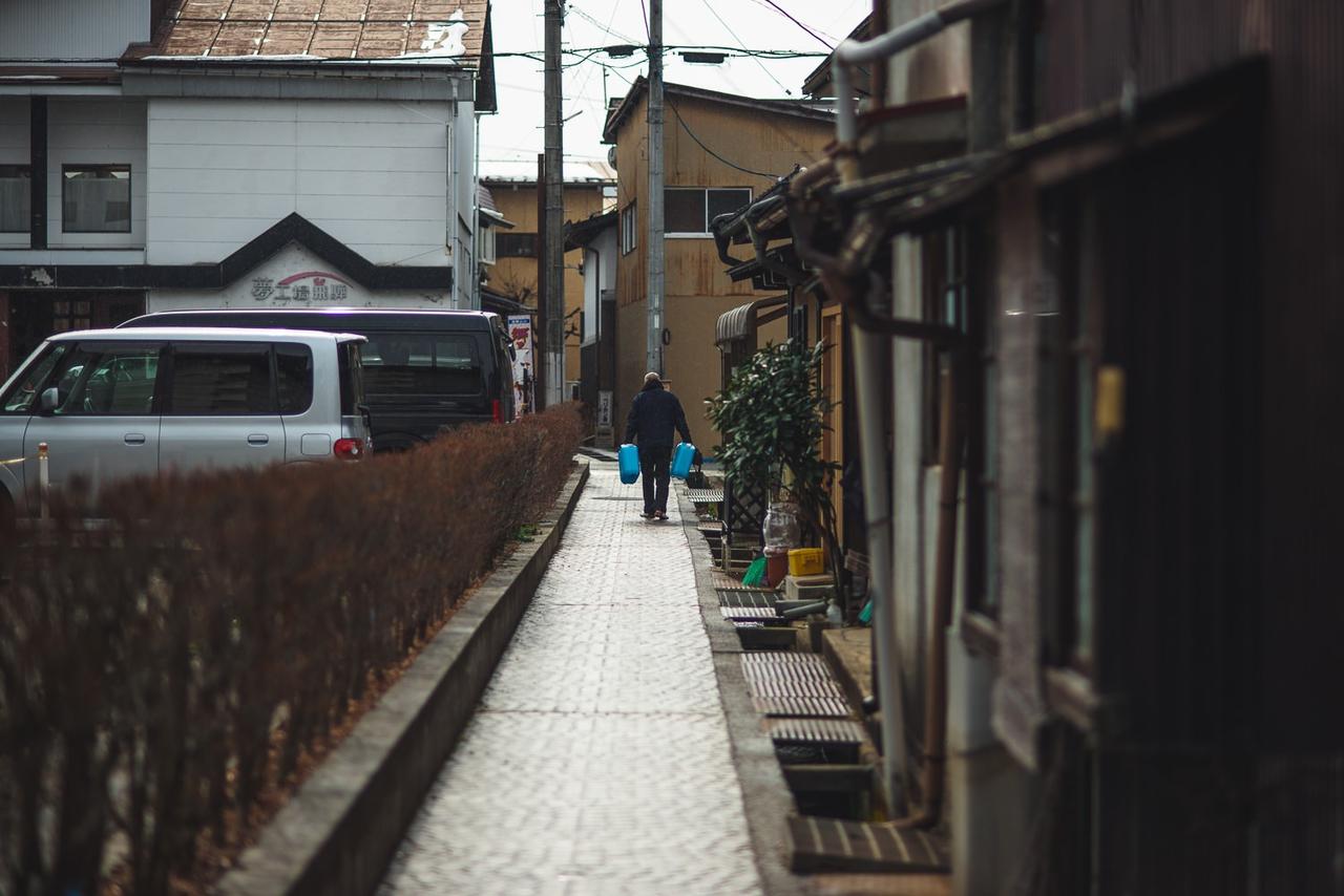 岐阜県高山市 桜山八幡宮付近