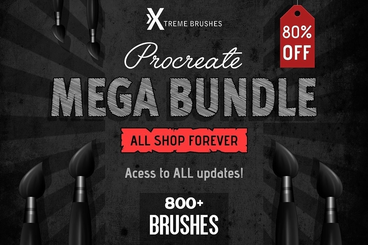 Procreate MEGA BUNDLE!
